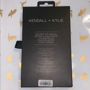 Kendall+ Kylie snap-on phone case for iPhoneX